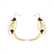 Aya Gold Spikes Earrings